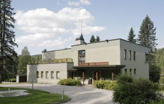 Koskikara, Kajaanin Puutavara Oy:n toimitusjohtajan asunto ja edustustilat (Eino Pitkänen 1940).