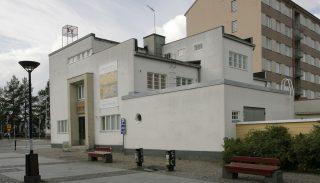 Kajaanin vanha poliisilaitos, nykyinen taidemuseo (Eino Pitkänen, 1936).