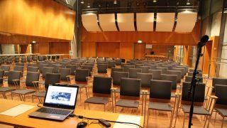 Tasalattia tekee Leihu-salista erittäin monipuolisen tilan, jossa on mahdollisuus 120:een tuolipaikkaan