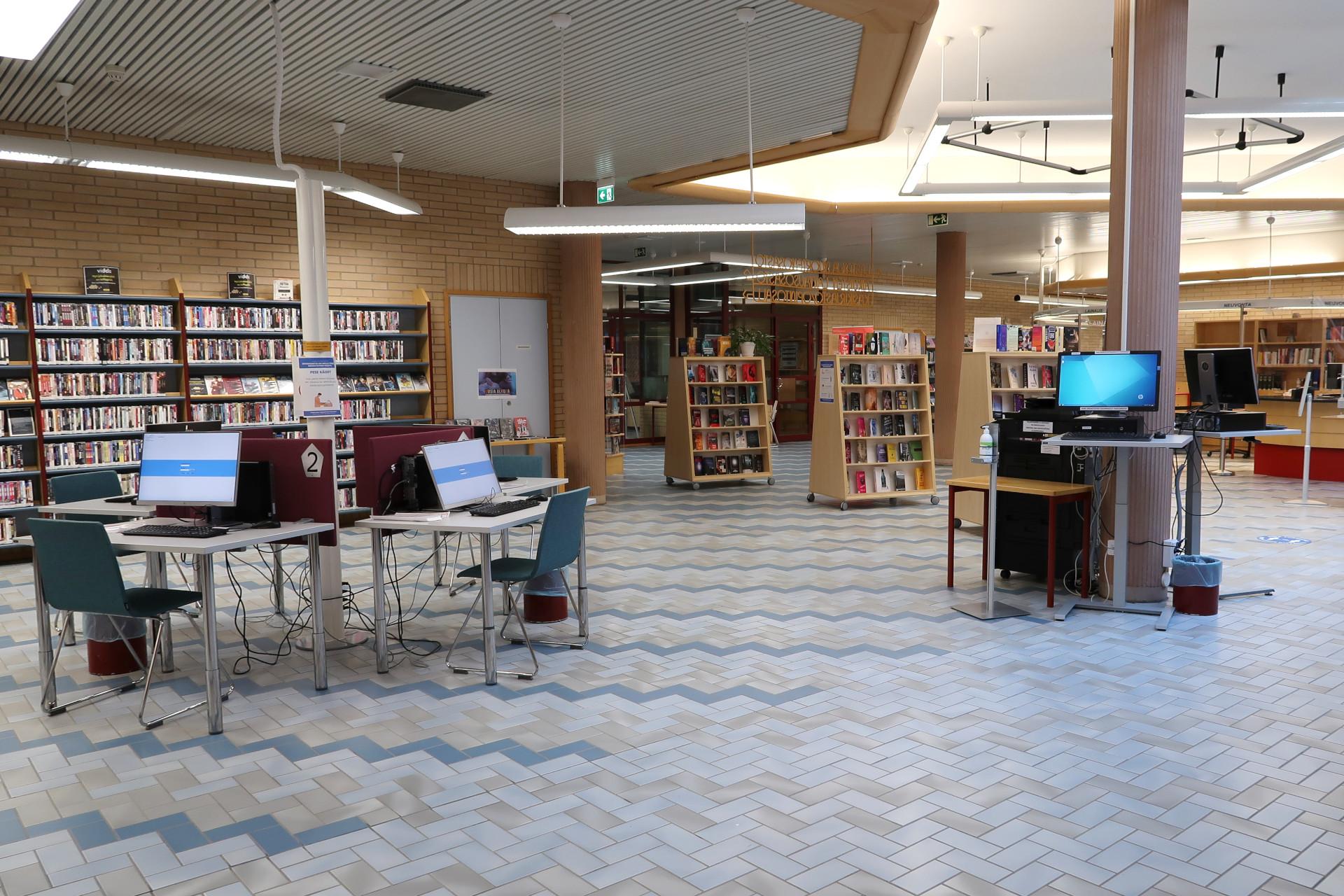 Kirjasto Kajaani