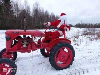 Joulupukki ja Valmet
