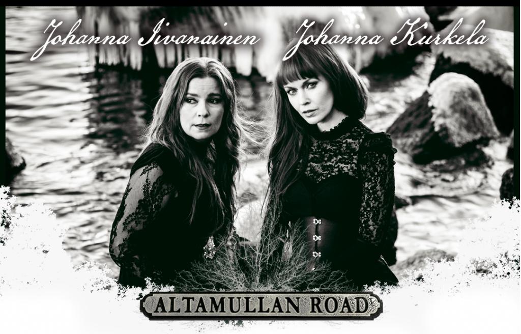 Johanna Iivanainen & Johanna Kurkela Altamullan road kiertueen mainoksessa