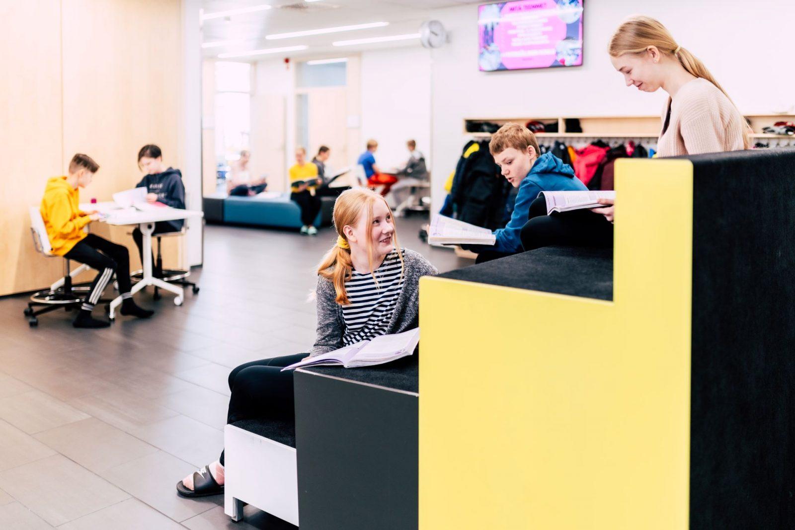 Peruopetuksessa voit opiskella nykyaikaisissa tiloissa