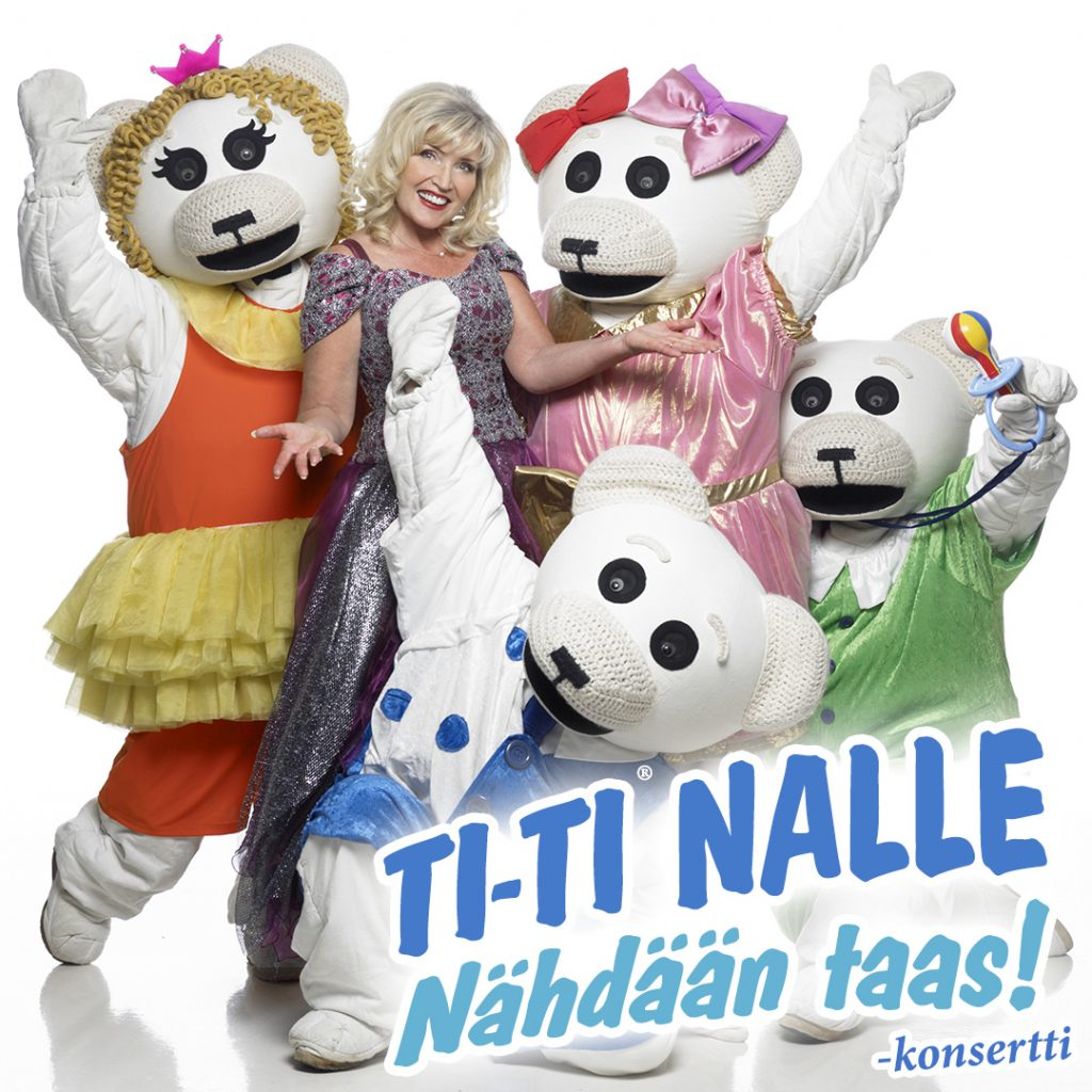 Kuvassa Ti-Ti Nallen perhe