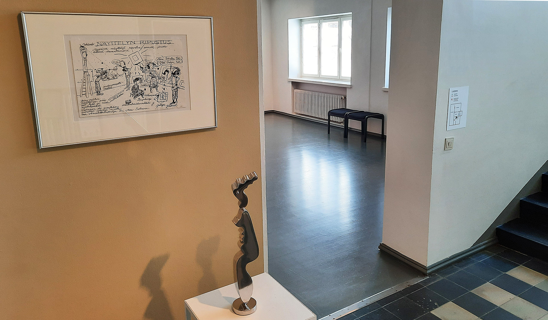 Kesäkuun kokoelmateokset Kajaanin taidemuseossa
