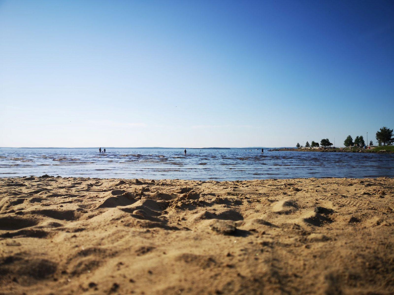 Uimarannan hiekkaranta