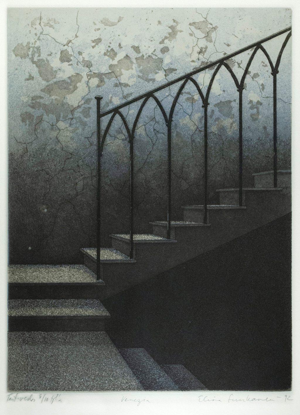 Kuva Elina Luukasen teokseseta Venezia (1992)