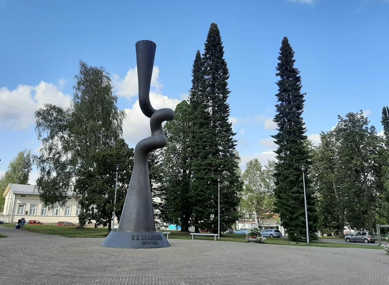 Urho Kekkosen muistomerkki kuvaaja Raija Elsinen