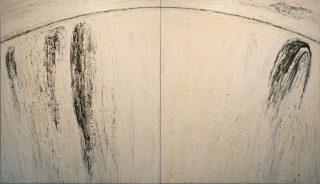 Kuva teoksesta: Henry Wuorila-Stenberg: Toivo -hope, 1988, öljy. Kajaanin taidemuseon kokoelma